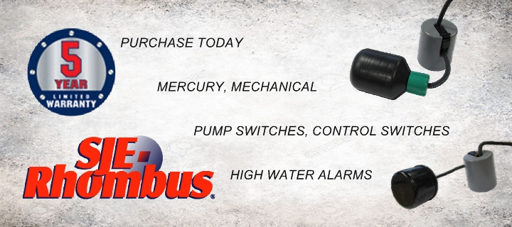 SJE-Rhombus Float Switches, High Water Alarms